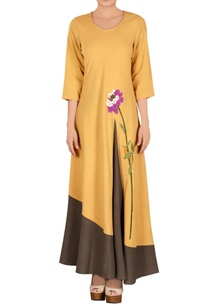 pale-yellow-khadi-parsi-work-dress