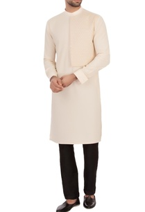 cream-moss-georgette-textured-kurta