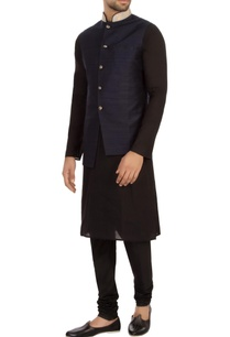 navy-blue-raw-silk-solid-nehru-jacket