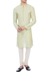 mint-green-chanderi-kurta
