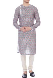 multicolored-printed-cotton-kurta
