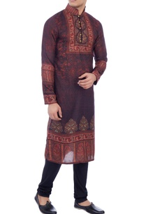 black-cotton-silk-churidar-pants