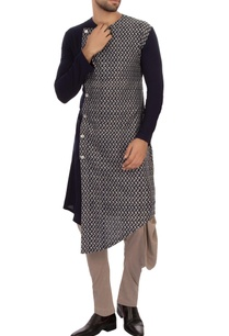 navy-blue-organic-cotton-kurta