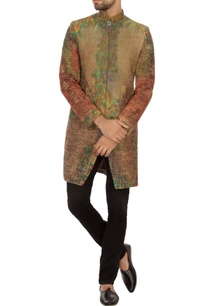 green-rust-khadi-embroidered-bandhgala-jacket