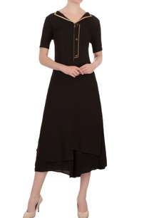 black-double-georgette-embellished-tunic-with-pants