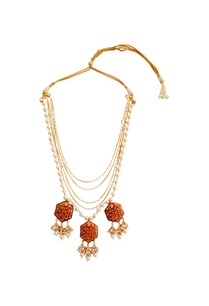 red-gold-plated-copper-pearl-necklace