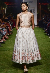 pink-chanderi-silk-crop-top-and-skirt