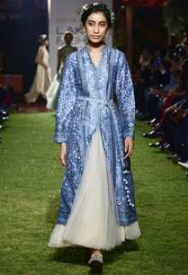 blue-chanderi-silk-long-jacket-with-tulle-skirt