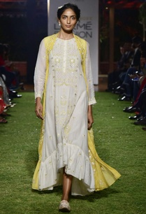 yellow-chanderi-mull-jacket-with-tunic