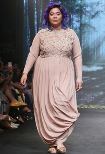 nude-pink-silk-georgette-embroidered-maxi-dress