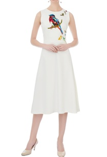 white-micro-embroidered-midi-dress