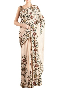 peach-chiffon-embroidered-sari-blouse