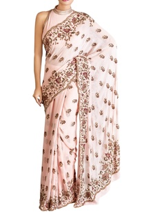 pink-chiffon-sequin-sari-with-blouse