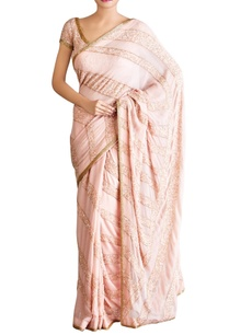 pastel-pink-stripe-motif-sequin-sari-with-blouse