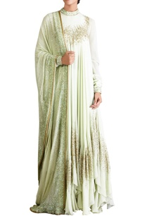 mint-green-sequin-embellished-kurta-set