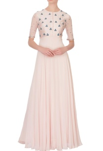peach-georgette-embroidered-maxi-dress
