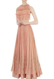 pink-lehenga-layered-blouse
