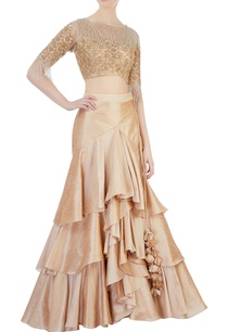 rose-gold-raw-silk-lehenga-blouse
