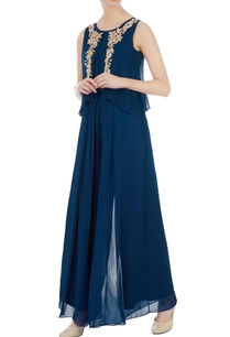 navy-blue-cape-style-georgette-jumpsuit