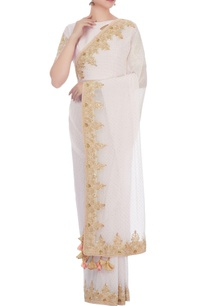 white-pure-georgette-zardozi-sari-with-blouse