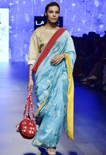 blue-clamp-dyed-chanderi-sari