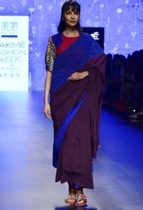 purple-ink-blue-macrame-sari-with-tassel-edges