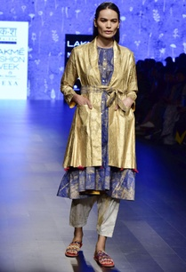 blue-flared-chanderi-tunic