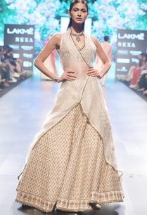 beige-raw-silk-organza-embroidered-lehenga-with-overlap-jacket