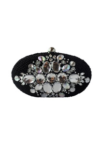 black-sequin-bead-embellished-clutch