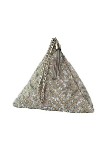 silver-sequin-chevron-triangle-clutch