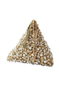 gold-pearl-embellished-triangle-clutch
