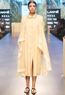 beige-asymmetric-jacket-with-kurti