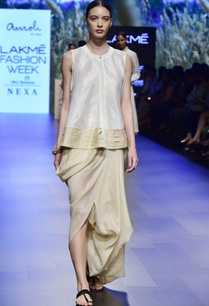 pearl-white-beige-blouse-and-dhoti-pants