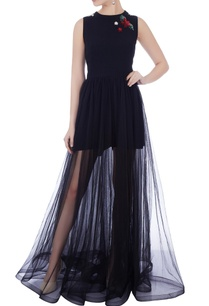 navy-blue-moss-crepe-tulle-embroidered-jumpsuit-dress