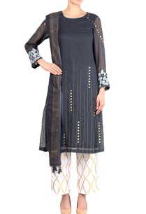 dark-grey-kota-embroidered-kurta-with-palazzo-pants