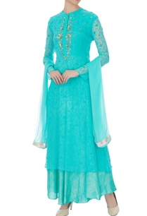 blue-chiffon-embroidered-long-kurta-with-dupatta