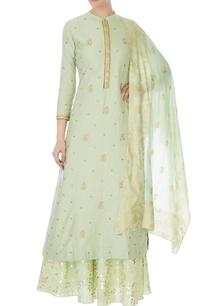 mint-green-cotton-silk-embroidered-kurta-skirt-and-dupatta
