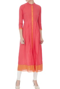 peach-south-cotton-long-kurta