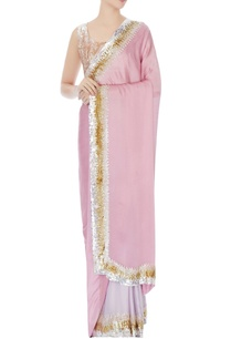 onion-pink-lavender-satin-chiffon-sequin-chitta-embroidery-sari-with-blouse