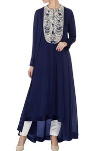 navy-blue-satin-crepe-embroidered-tunic