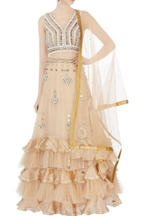 beige-hand-embroidered-blouse-with-ruffle-lehenga-dupatta