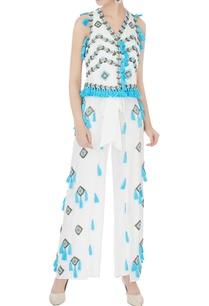 blue-white-hand-embroidered-tassel-waistcoat