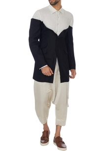 black-white-linen-jacket