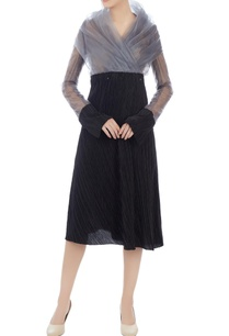 black-enonyl-organdy-wrap-blouse