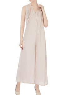 beige-silk-loose-fit-jumpsuit