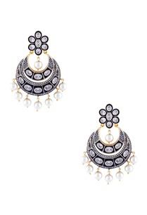 navy-blue-mixed-metal-victorian-earrings