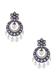 silver-white-mixed-metal-victorian-earrings