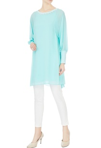 sky-blue-georgette-tunic-with-pearl-stonework