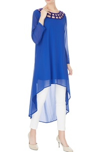 blue-high-low-georgette-tunic