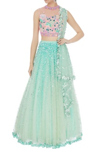 pink-mint-blue-embellished-classic-lehenga-set